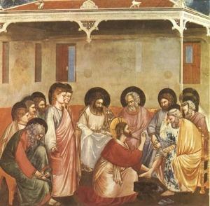 Chrystusowe obmywanie stóp